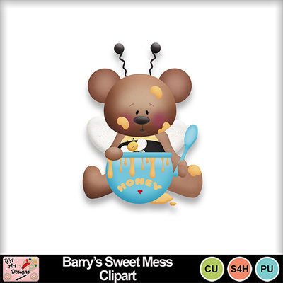Barry_s_sweet_mess_clipart_preview