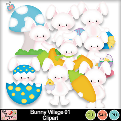 Bunny_village_01_clipart_preview