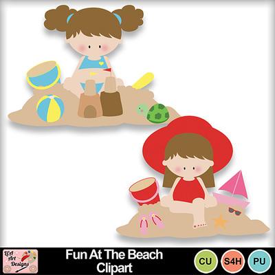 Fun_at_the_beach_clipart_preview