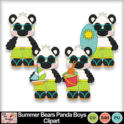 Summer_bears_panda_bears_boys_clipart_preview