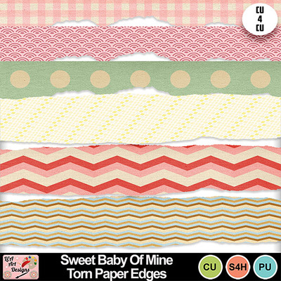 Sweet_baby_of_mine_torn_paper_edges_preview