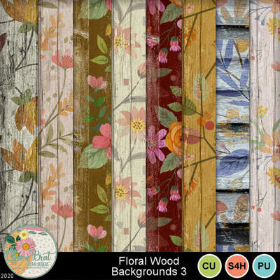 Floralwoodbackgroundpack3