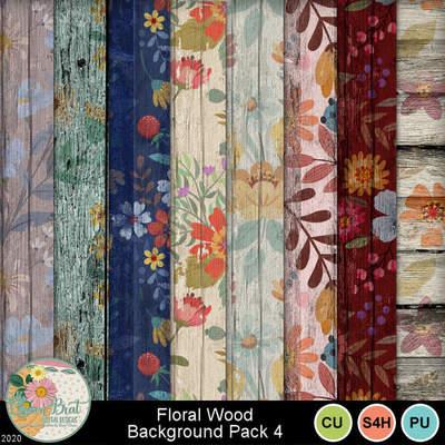 Floralwoodbackgroundpack4