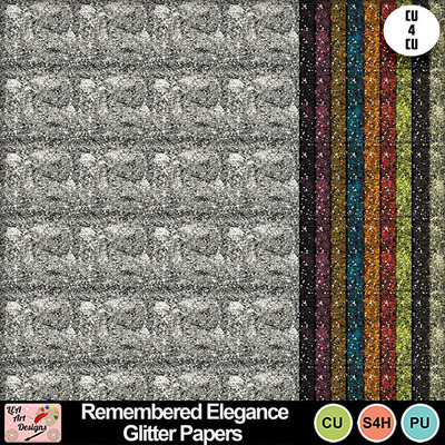 Remembered_elegance_glitter_papers_preview