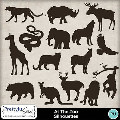 At_the_zoo_sil