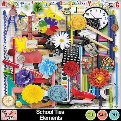 School_ties_elements_preview