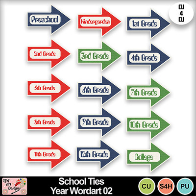 School_ties_year_wordart_02_preview
