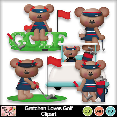 Gretchen_loves_golf_clipart_preview