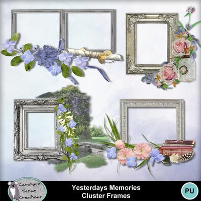 Csc_yesterdays_memories_cluster_frames_