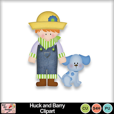 Huck_and_barry_clipart_preview