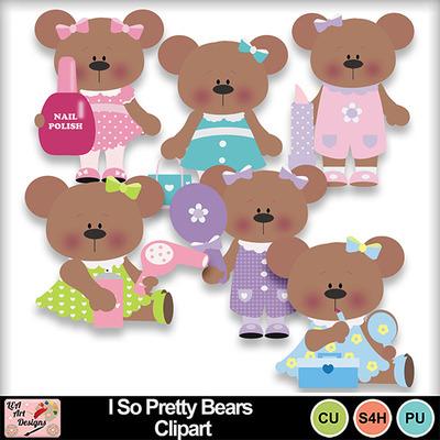 I_so_pretty_bears_clipart_preview