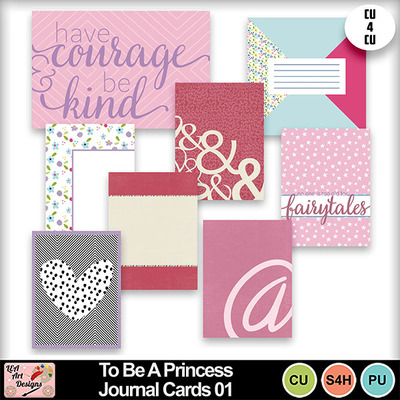 To_be_a_princess_journal_cards_01_preview