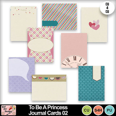 To_be_a_princess_journal_cards_02_preview