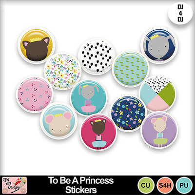 To_be_a_princess_stickers_preview