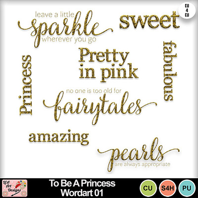 To_be_a_princess_wordart_01_preview