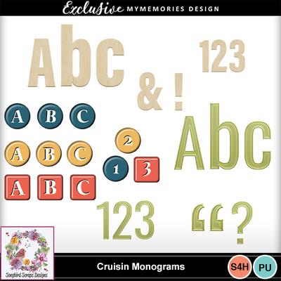 Cruisin_monograms