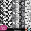 Carmenmiranda_bw_pattern1_small