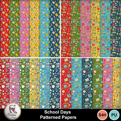 Pv_schooldays-paternedpapers