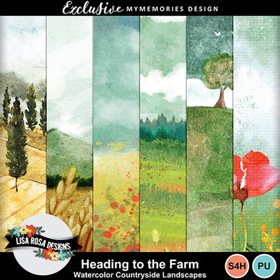 Lisarosadesigns_headingtothefarm_watercolorcountrysidelandscapes1