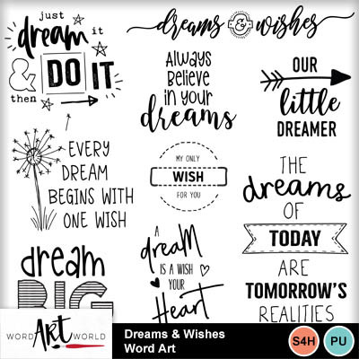 Dreams_and_wishes_word_art