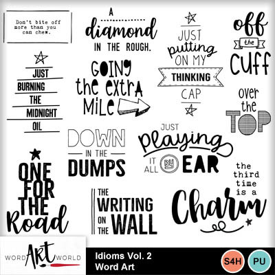Idioms_vol_2_word_art