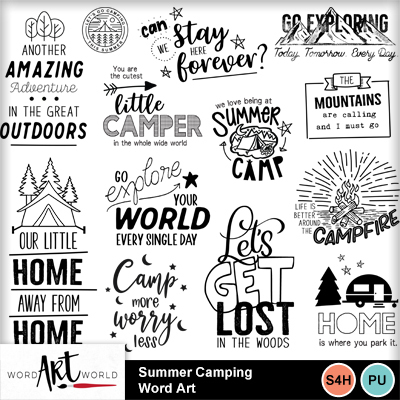 Summer_camping_word_art