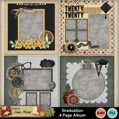 Graduation_4_page_album