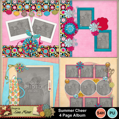 Summer_cheer_4_page_album