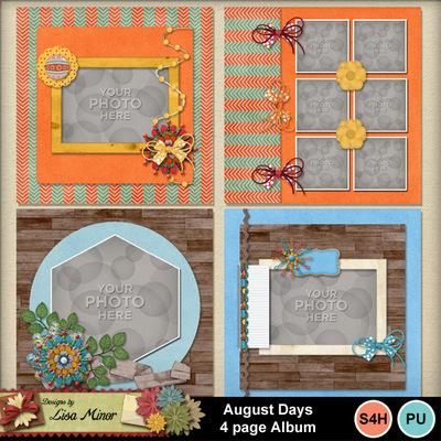 August_days_4_page_album