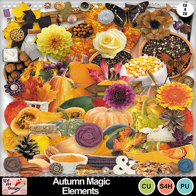 Autumn_magic_elements_preview