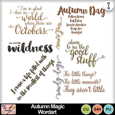 Autumn_magic_wordart_preview