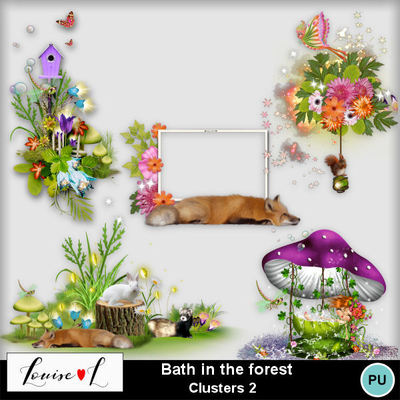 Louisel_bath_in_the_forest_clusters2_preview