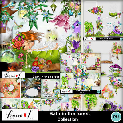 Louisel_bath_in_the_forest_pack_preview
