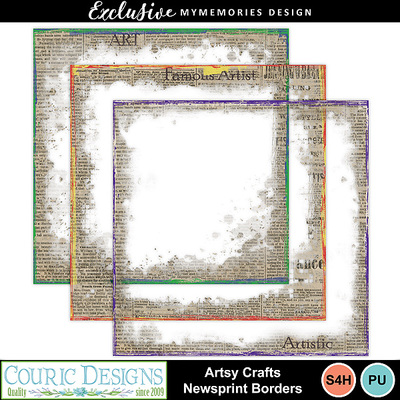 Artsy-crafts-newsprint-borders
