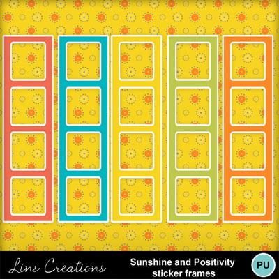 Sunshineandpositivitystickerframes
