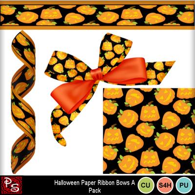 Pumpkin_paper_bows_ribbon