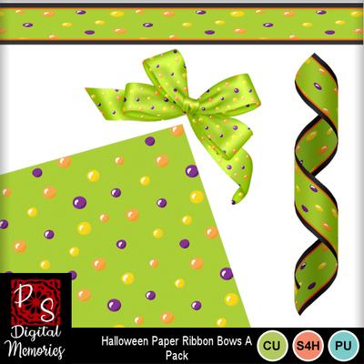 Halloween_dots_ribbons_bow
