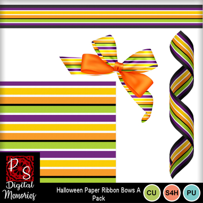 Halloween_stripes_paper_bows