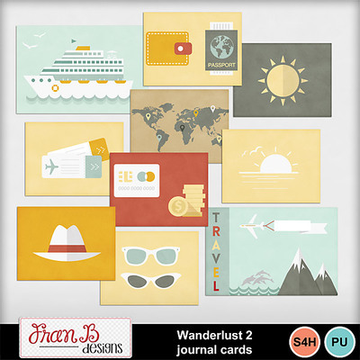 Wanderlust2journalcards