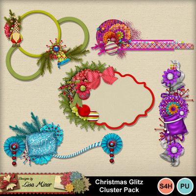 Christmasglitzclusters