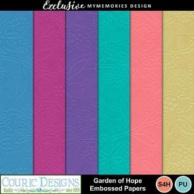 Garden_of_hope_embossed_papers