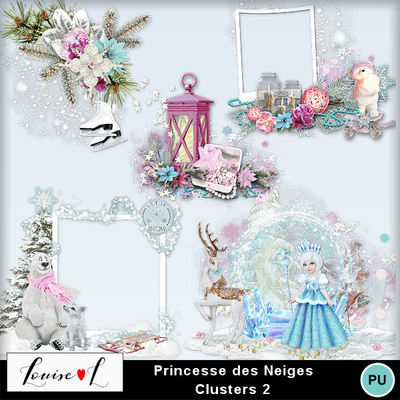 Louisel_princesse_des_neiges_clusters2_preview