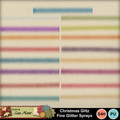 Christmasglitzsprays
