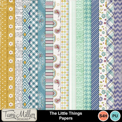 Tmd_thelittlethings_papers