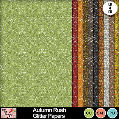 Autumn_rush_glitter_papers_preview