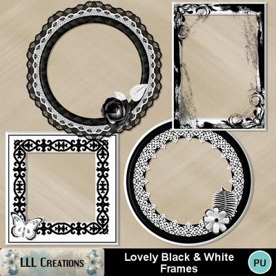 Lovely_black___white_frames-01