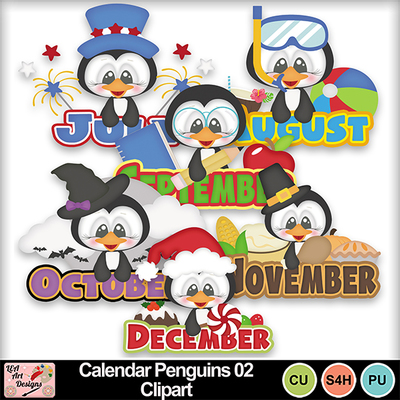 Calendar_penguins_02_clipart_preview