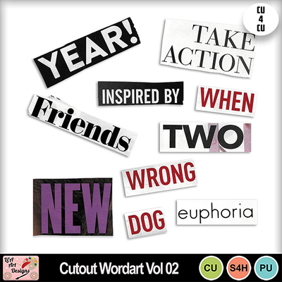 Cutout_wordart_vol_02_preview