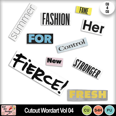 Cutout_wordart_vol_04_preview