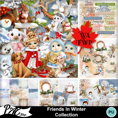 Patsscrap_friends_in_winter_pv_collection
